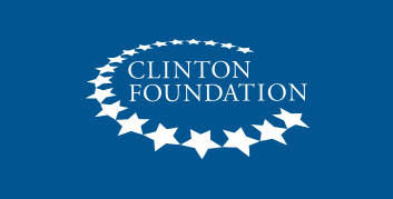 clinton foundation logo