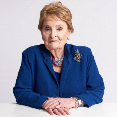 Madeline Albright, former SOS