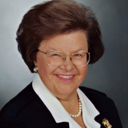 Barbara Mikulski, former senator